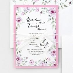 Zaproszenie Ślubne Rosa
