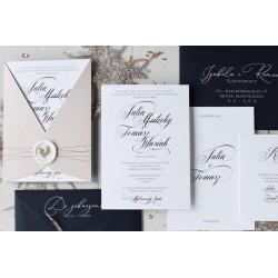 Zaproszenia ślubne Lena Classy