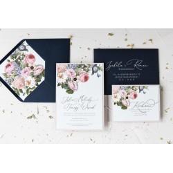 Zaproszenia ślubne Vintage Meadow