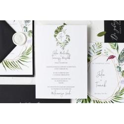Zaproszenia ślubne Nina Green