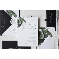Zaproszenia ślubne Ficus Love