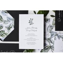 Zaproszenia ślubne Emma Green