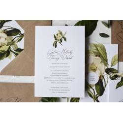 Zaproszenia ślubne Emma Grey