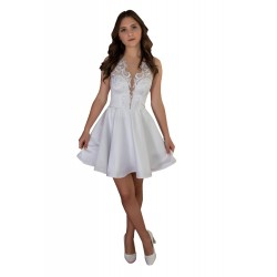 Suknia ślubna lub na poprawiny- Model: SS002