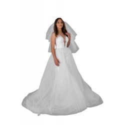 Welon ślubny WN002