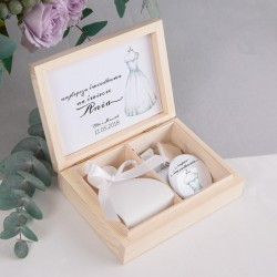 PODZIĘKOWANIE dla Świadkowej w pudełku Bride&Groom