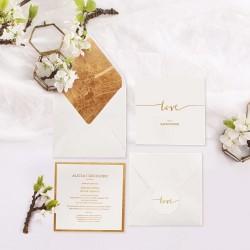 ZAPROSZENIE ślubne Kolekcja Love