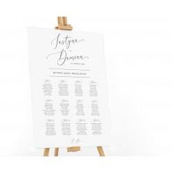Plan stołów weselnych Aurelia