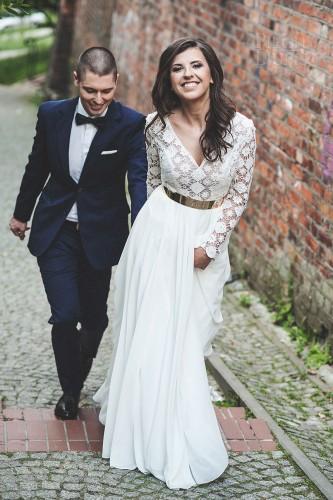 Piękny, słoneczny ślub Ani i Maćka