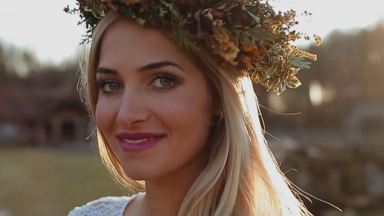 Klip ślubny Miss Polonia 2010 Rozalii Mancewicz i Marcina Jaworskiego.