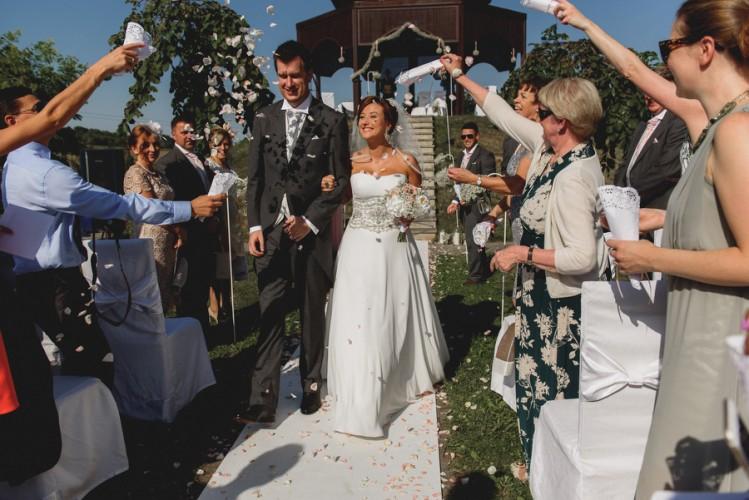 Ewa&Thomas - plenerowy ślub w Dworze w Tomaszowicach