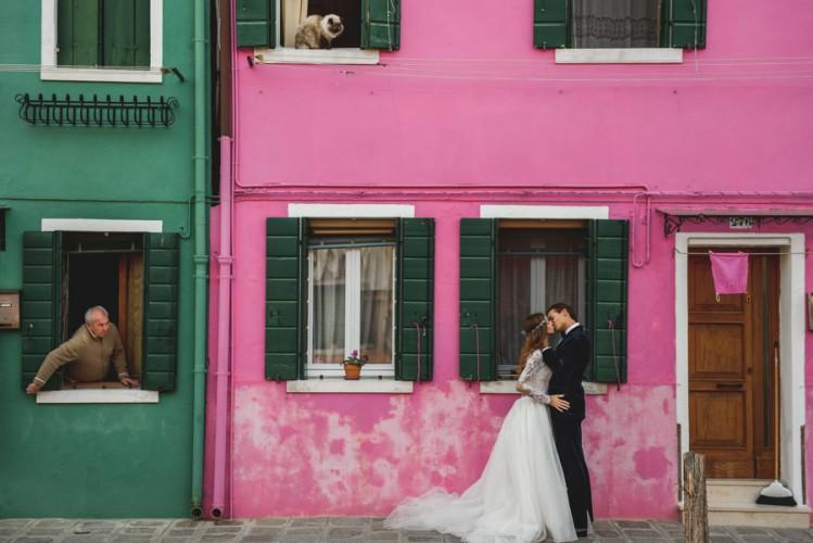 Iwona & Michał - plener ślubny w Wenecji