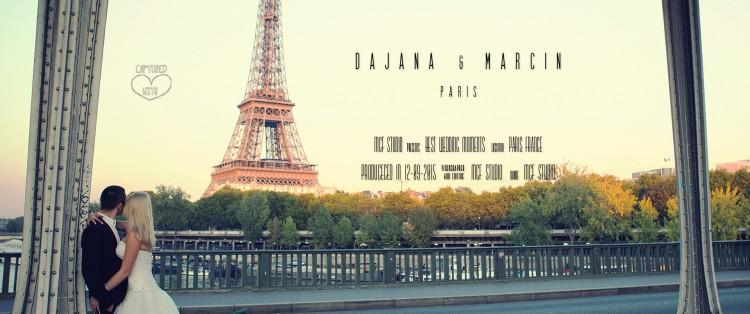 Klip Ślubny Dajana & Marcin // Paris | France Wedding Clip
