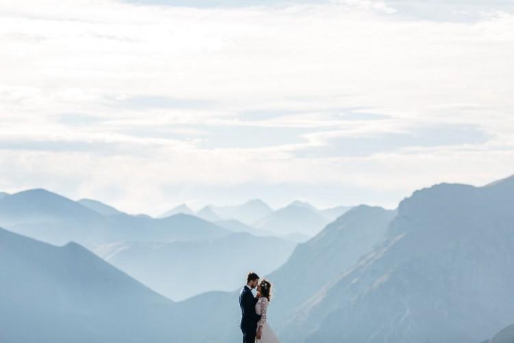 Martyn i Piotr - Sesja poślubna na Kasprowym Wierchu