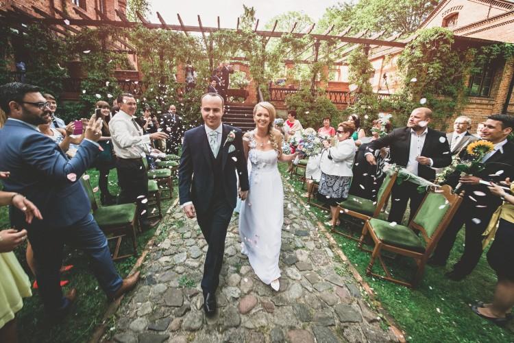 Plenerowy ślub Ewy i Ryana