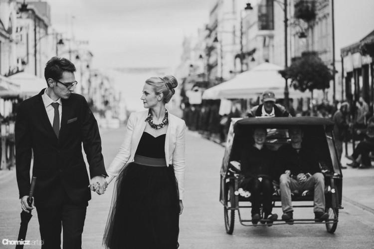 Kasia & Marek - czarna sukienka