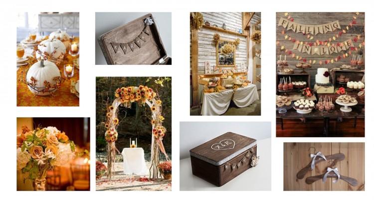 Ślub jesienią? Jak dobrać dekoracje?