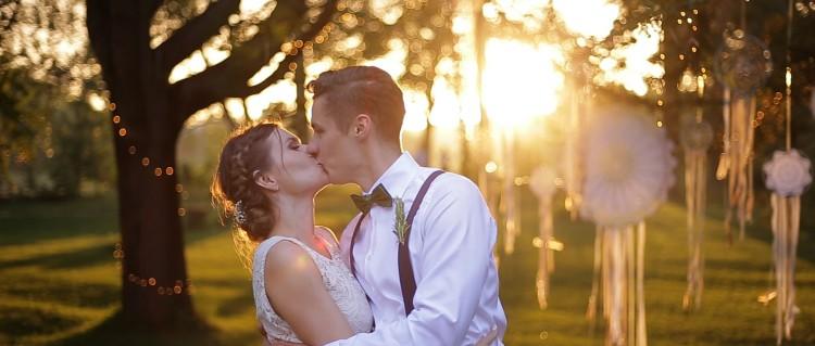 Magiczny ślub w klimacie boho