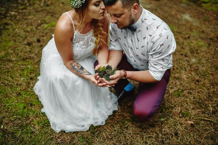 Magda + Tobiasz | Charakterny, Rustykalny ślub