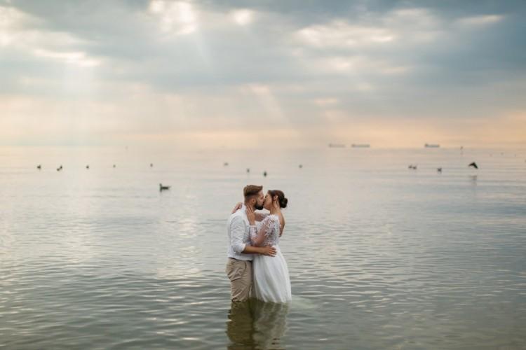 Gosia i Paweł - Sesja ślubna nad morzem