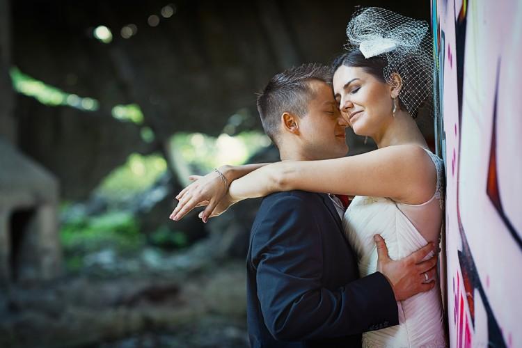 Małgosia i Łukasz  - plener ślubny w zmiennych warunkach