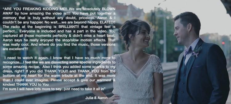 Julia & Aaron - Yes....I Do !