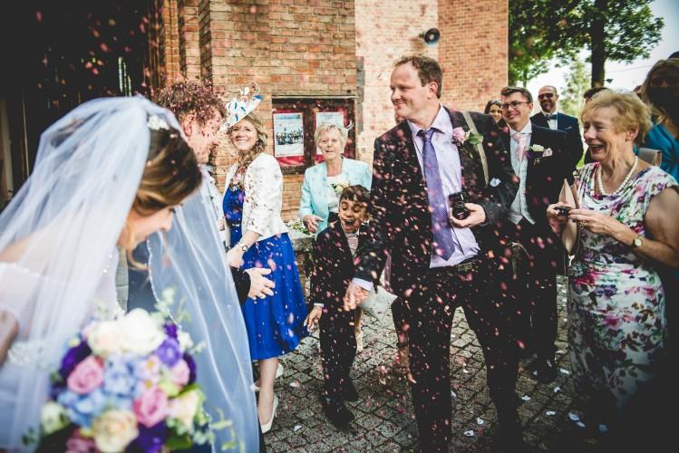 Niezwykły ślub , we wspaniałej lokalizacji
