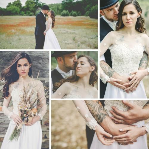 Gizela i Thorsten -  Ślub w stylu whimsical