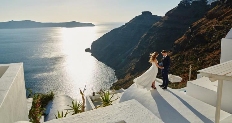 Irmina + Artur | Ślub na Santorini
