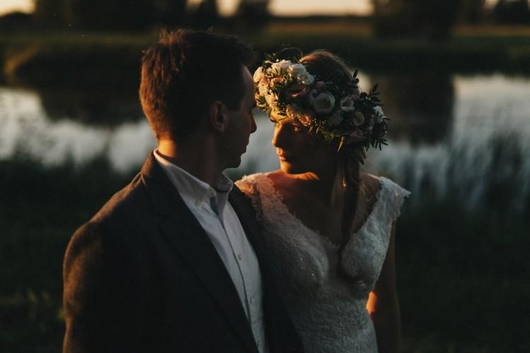 Ślub w oranżerii oraz plener w stylu boho.