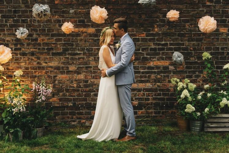 Plenerowy ślub w deszczu!