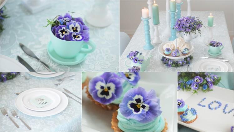"""Sesja """"Spring is coming"""" - niebieskie inspiracje"""