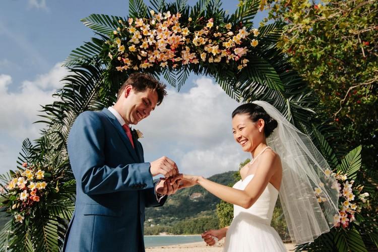 Egzotyczny ślub na Seszelach