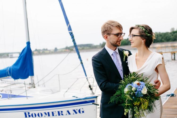 Subtelny i romantyczny ślub w Rudach Raciborskich
