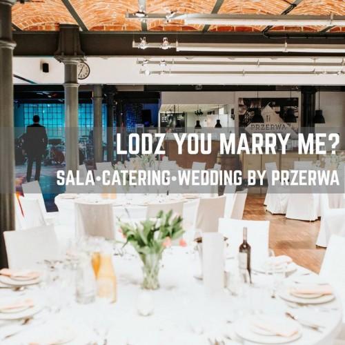 Łódź you marry me?