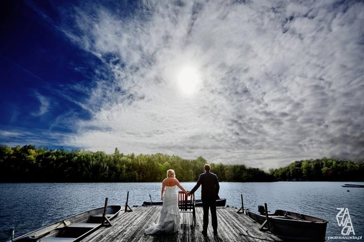 Reportaż ślubny z Kanady