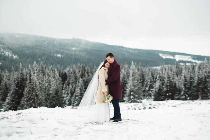 Sylwia i Paweł - Zimowy Plener w Górach