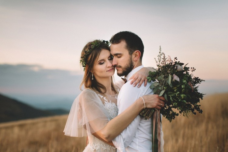 Katarzyna & Piotr – sesja ślubna w Bieszczadach