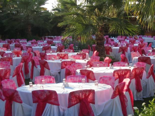Свадебный зал своими руками фото
