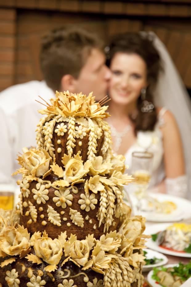 Góralski tort ślubny