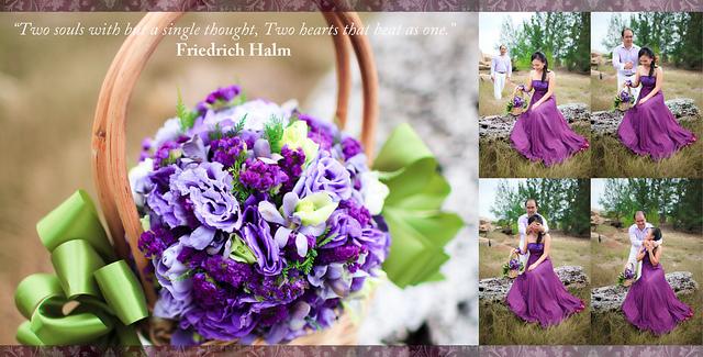 Fiolety Na ślubie I Weselu Fioletowe Dekoracje Weselne