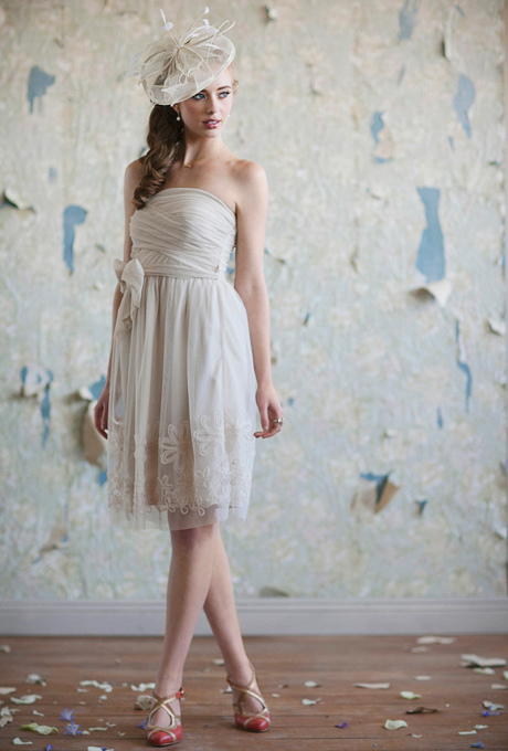 fascynator retro suknia panna mloda slub