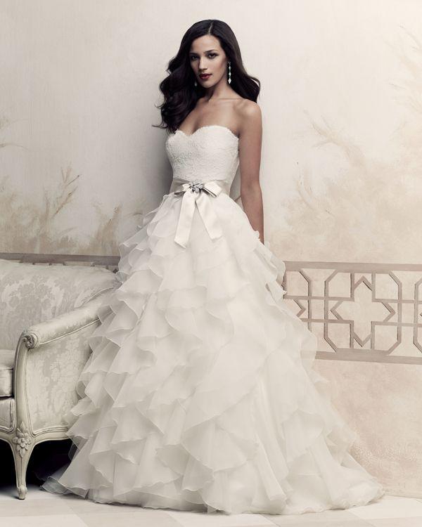 Suknia ślubna O Kroju Litery A