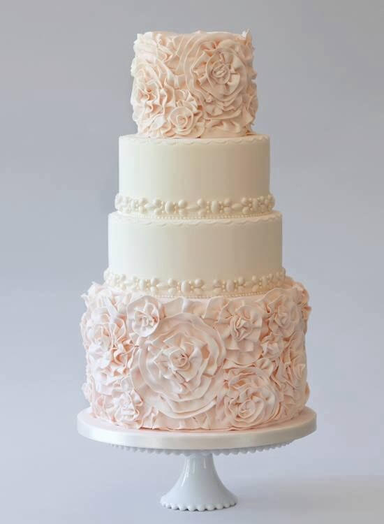 50 most beautiful wedding cakes review modny tort weselny 10434