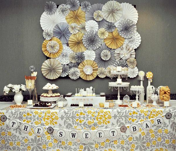 21 Fabulous Wedding Photo Display Ideas Reception: Pomysły Na Dekoracje Weselne Z Papieru