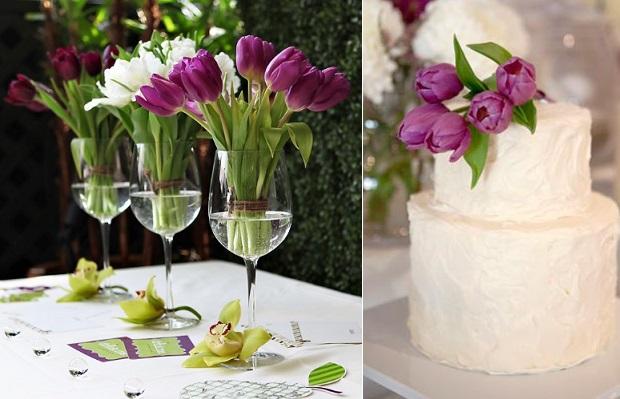 Tulipany Na ślubie ślub Na Głowie