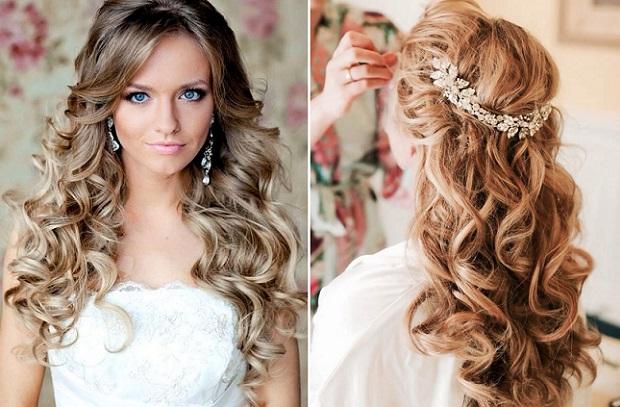 Długie Rozpuszczone Włosy Do ślubu Jaka Fryzura Jest Najlepsza Na