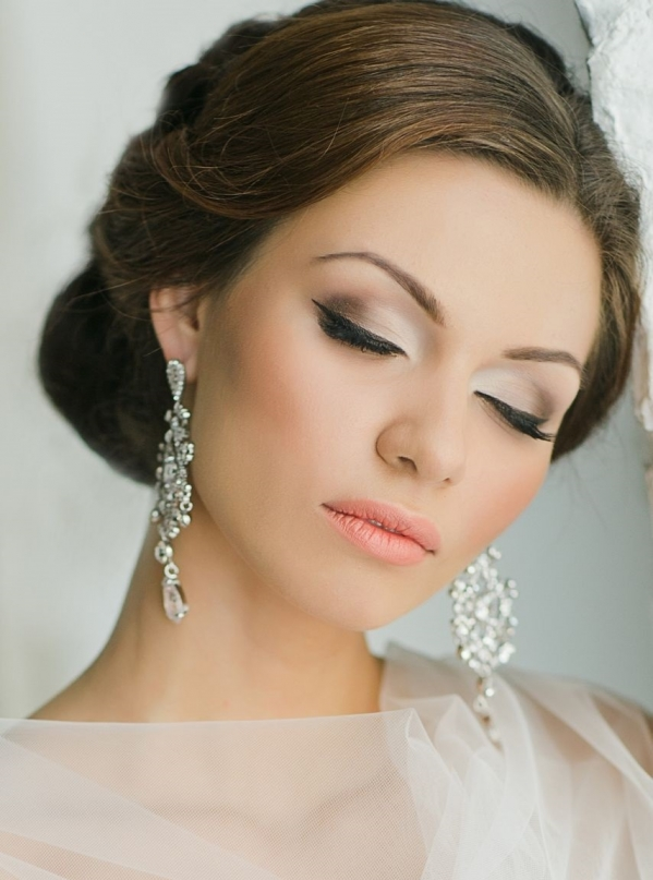 Makeup Ideas For An Evening Wedding : Fryzura slubna - kok Jak wybra? fryzur? slubn??