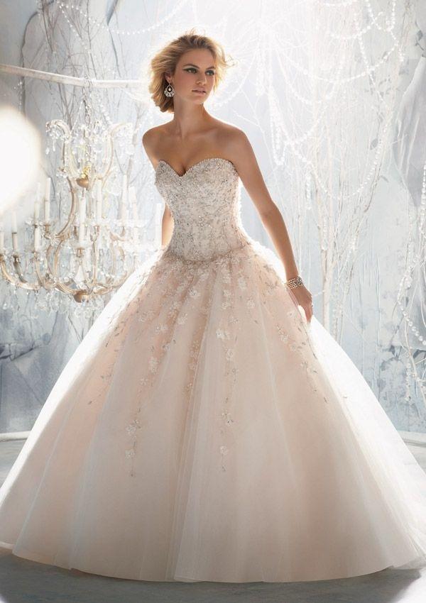Super Suknia ślubna typu princeska WQ-12