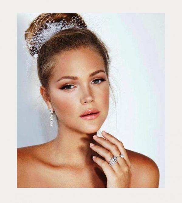 Natural Wedding Makeup 2017 : 35 propozycji na slubny makijaz